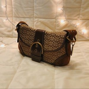 Coach Soho J04W-6818 Brown Shoulder Bag